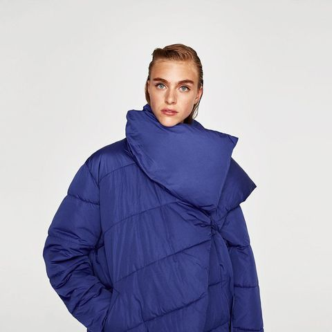 Asymmetric Quilted Jacket
