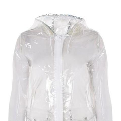 Transparent Raincoat Mac