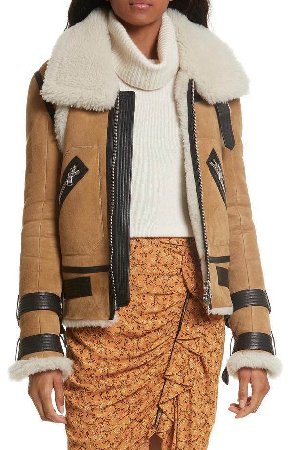 Windsor Genuine Shearling Pilot Jacket