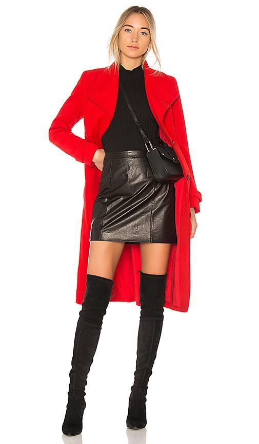 Undercover Coat in Red. - size S (also in M,XS)