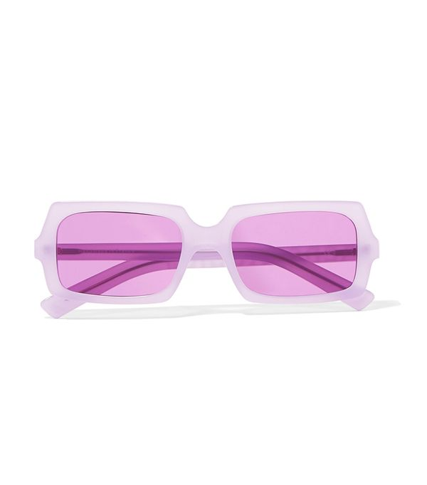 George Square-frame Acetate Sunglasses