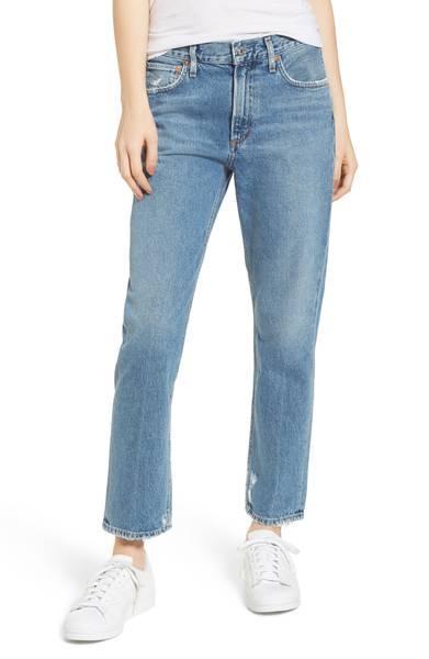 Agolde Cigarette High Waist Jeans