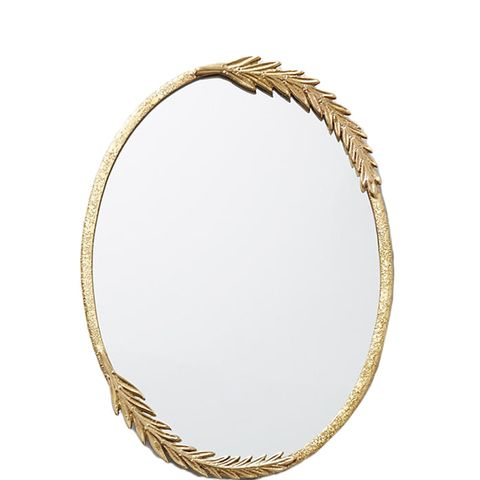 Olive Leaf Mirror