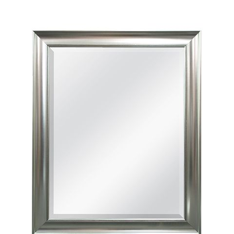 Transitional Beaded Wall Mirror