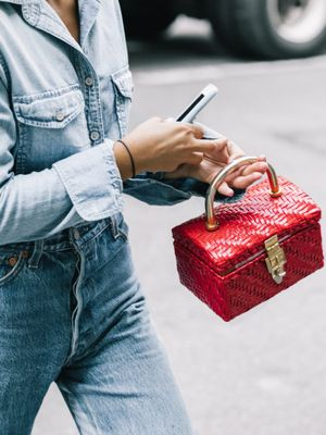 This Bag Is Basically Just a Chic Home for Your iPhone