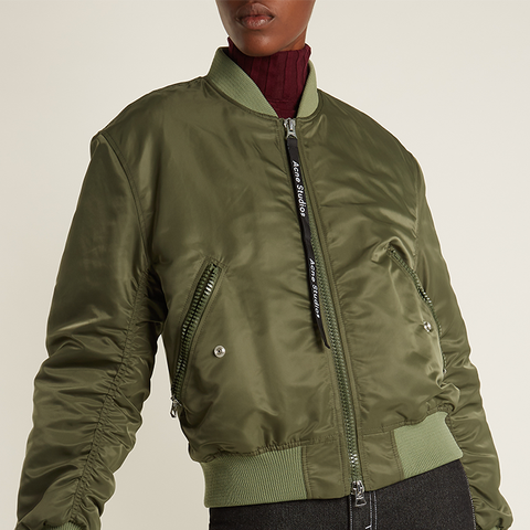 Clea Padded Bomber Jacket