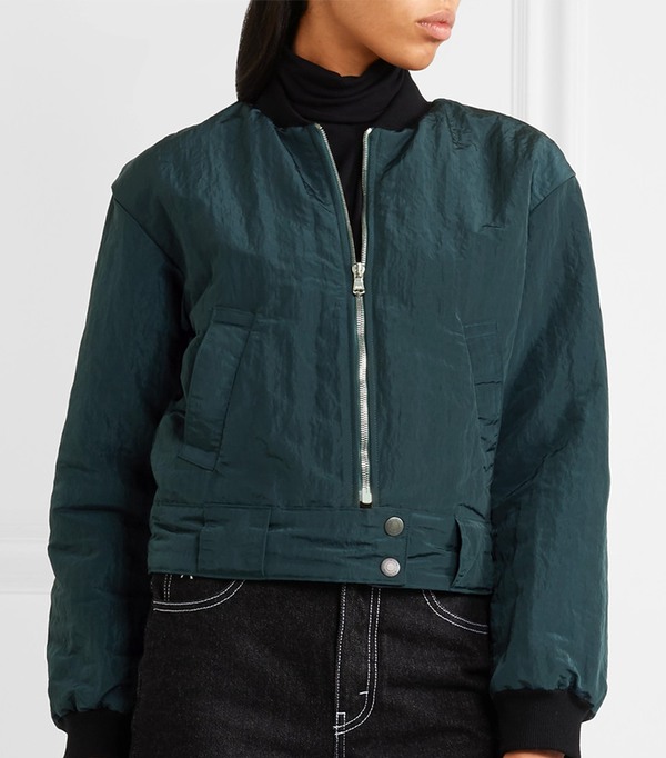 Almonda Shell Bomber Jacket