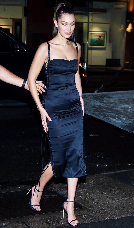 Bella Hadid birthday outfit: