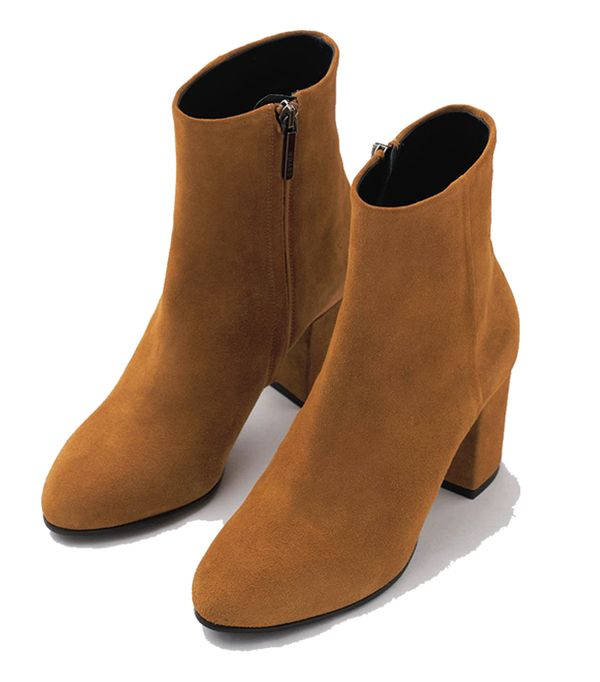 Gift ideas for women:  Suede Ankle Boots