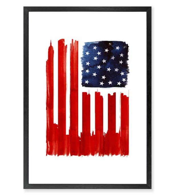Gift ideas for women: US flag print