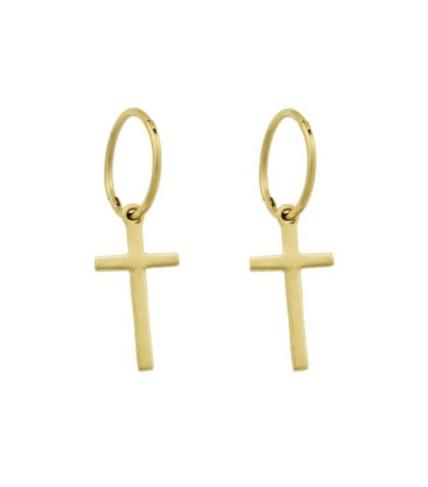 Gift ideas for women: Cross earrings