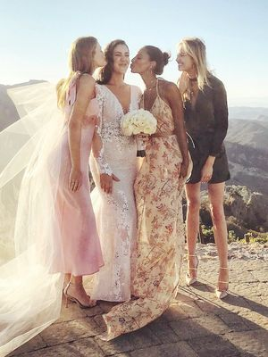 Here's What VS Angels Wear to a Wedding
