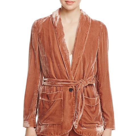 Anasophia Velvet Jacket