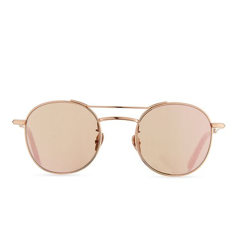 Orleans Mirrored Metal Universal-Fit Sunglasses