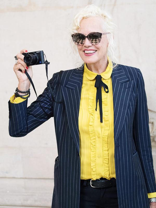 woman fashion photographer