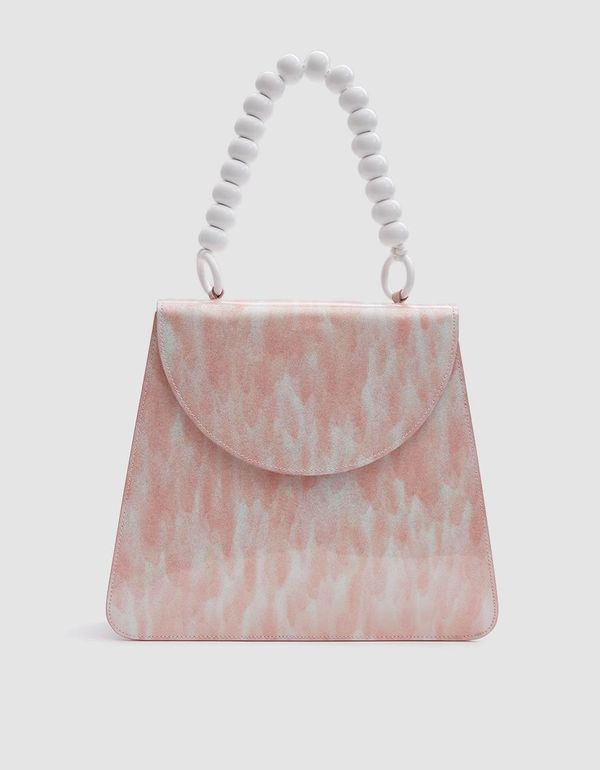 Sophie Bag in Pink Tortoise Sparkle
