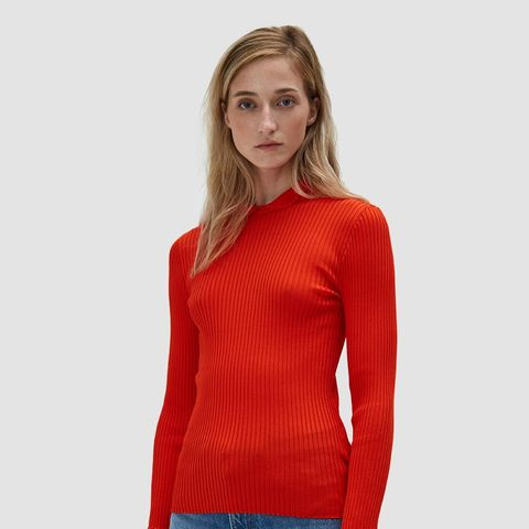 Romilly Blouse in Big Apple Red