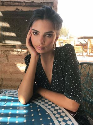 EmRata Just Wore the Coolest Under-the-Radar Brand in Morocco