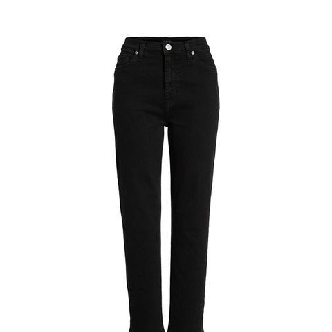 Zoeey High Waist Crop Jeans