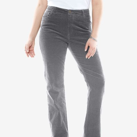 Bootcut Stretch Corduroy Jeans