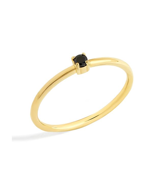 Micro Crystal Everyday Fine Stacking Ring