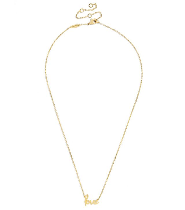 BaubleBar Amor Everyday Fine Pendant Necklace