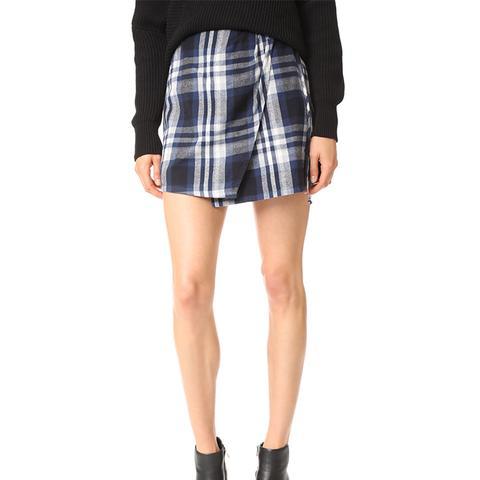 Ferdie Wrap Miniskirt
