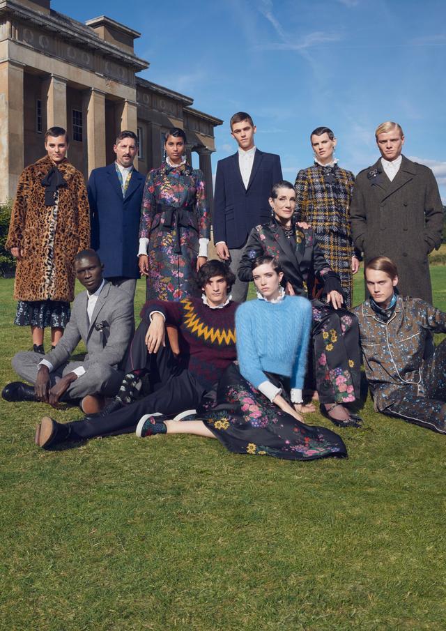 Erdem x H&M collection