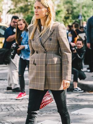 How to Wear Plaid Like a Fashion Girl