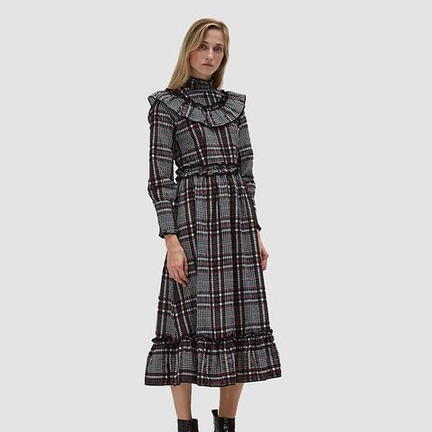 Charron Ruffle Trim Dress