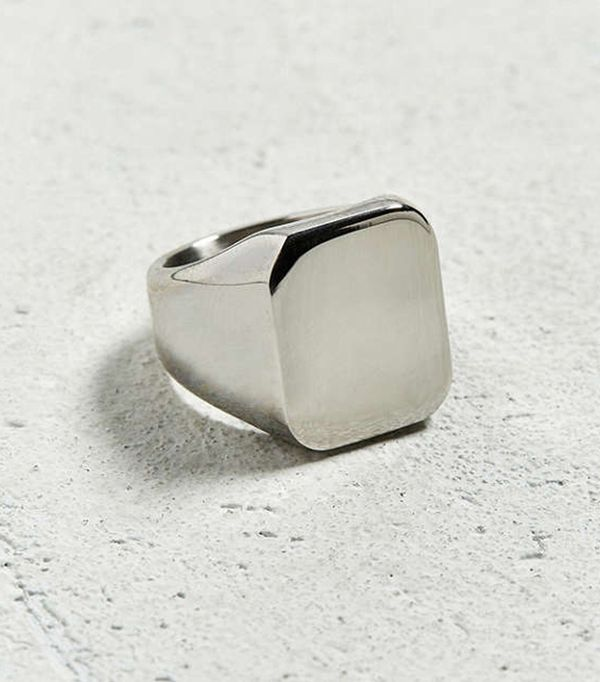 Roi'al Bijoux Pinky Ring - Silver 8 at Urban Outfitters