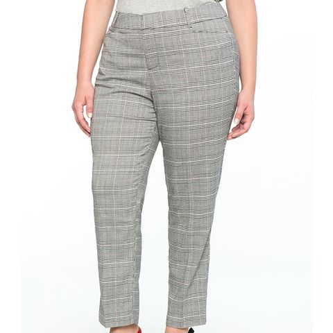 Kady Fit Plaid Pant