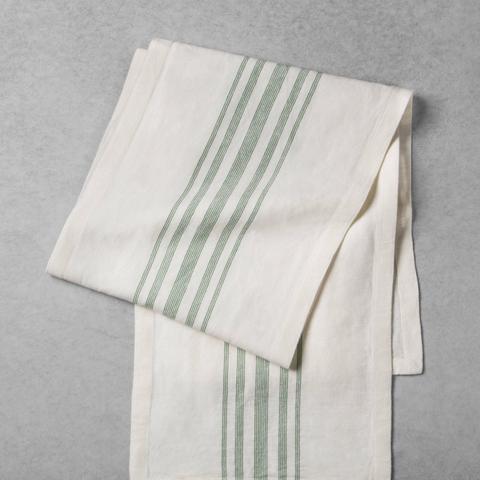 Striped Woven Table Runner