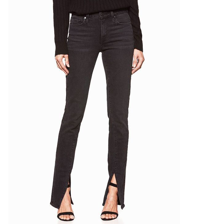 Rosie HW x Paige Collection Constance Skinny Jeans in Vintage Noir