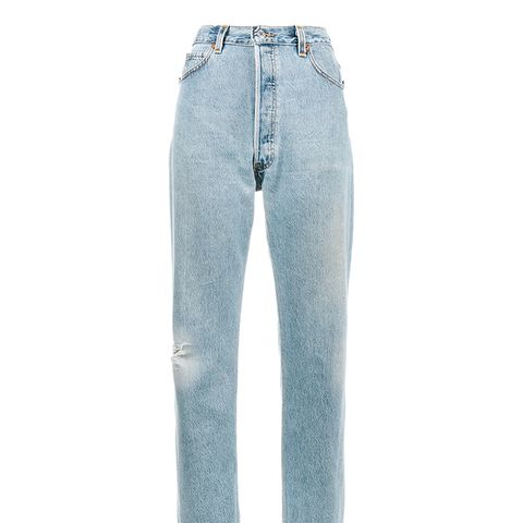 Levi's Ultra High Rise Boyfriend Jeans