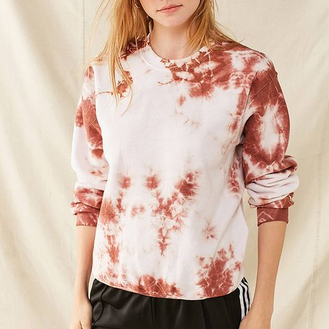 Recycled Uneven Dyed Sweatshirt