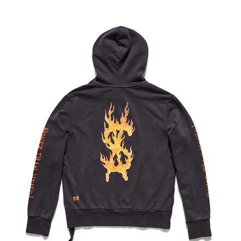 Flaming Dollar Hood