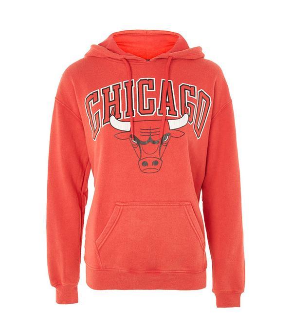 Chicago Bulls Hoodie by UNK X Topshop