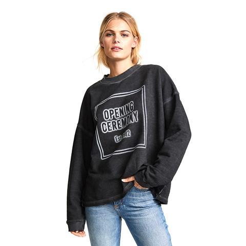 Cozy Stencil Sweatshirt