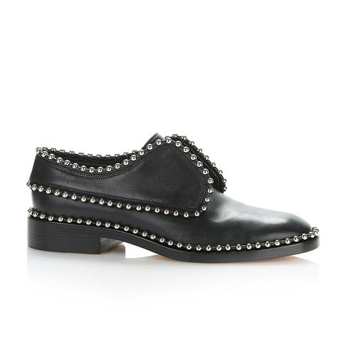 Wendie Leather Laceless Oxfords