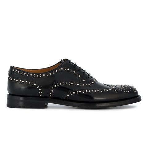 Burwood Studded Brogues