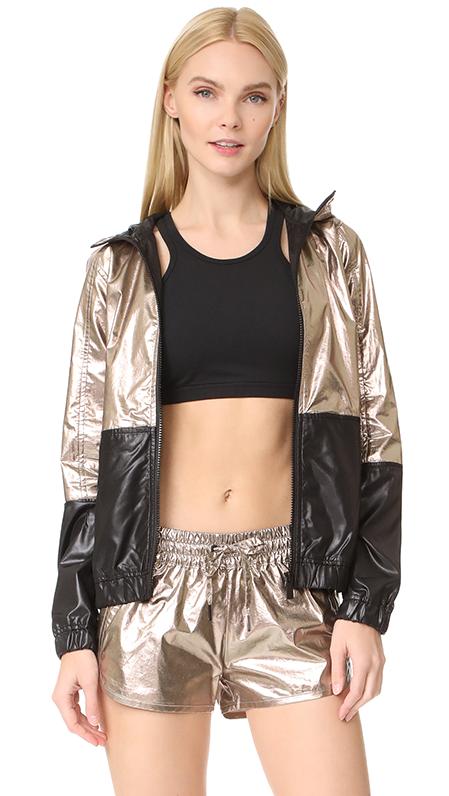 Metallic Woven Jacket