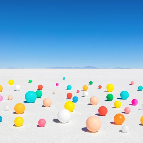 """Color Balloons III"""