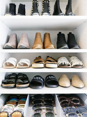 Take a Peek Inside These 4 Fashion Closets