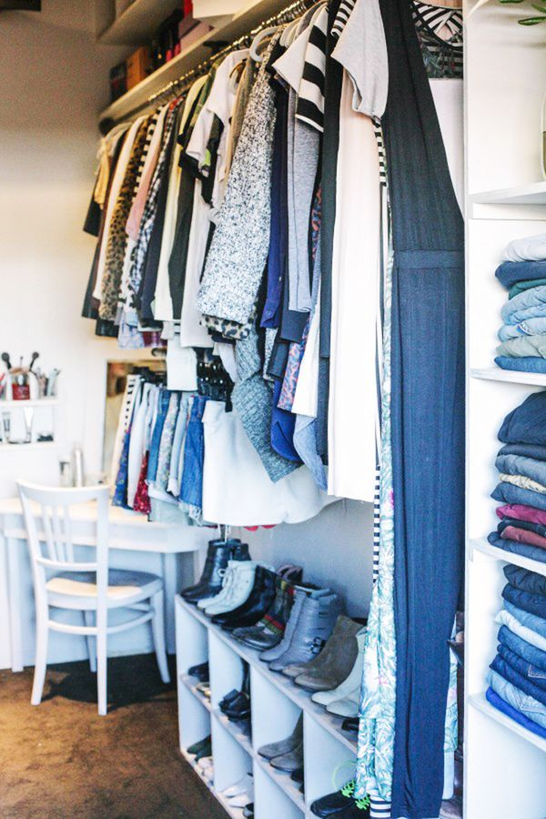 organized fashion closets