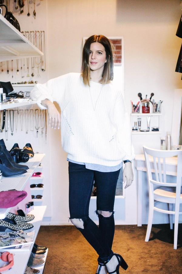 fashion blogger closet tour