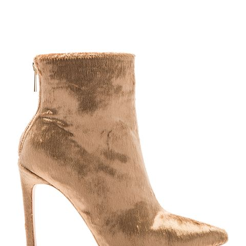 By Raye Christine Booties in Metallic Gold