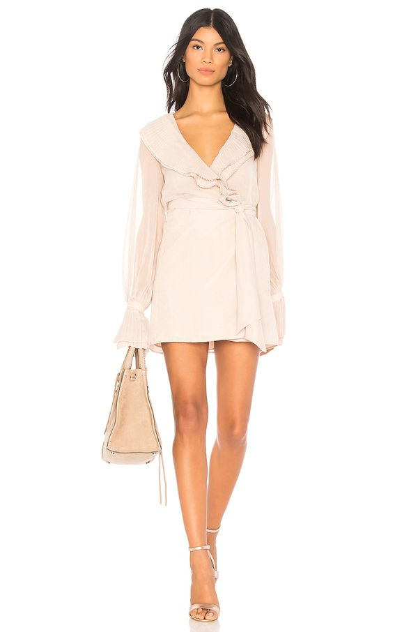 x REVOLVE White Sands Dress in White. - size M (also in S,XXS, XS,L,XL)