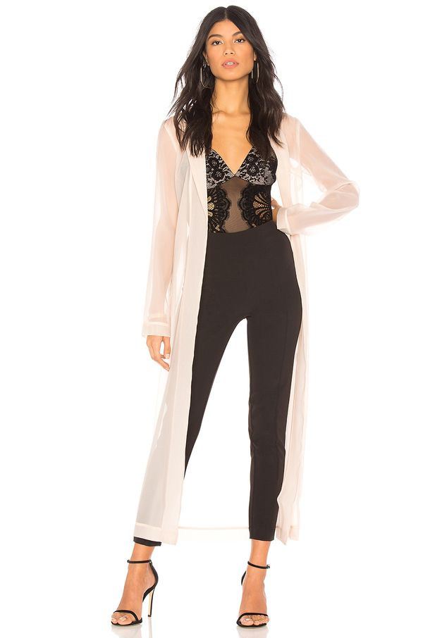 x REVOLVE Muse Duster in Beige. - size XXS (also in S,XS,M,L,XL)