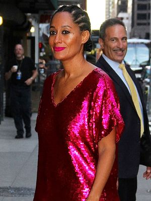 Okay, Tracee Ellis Ross, We Didn't Expect These Shoes With This Dress